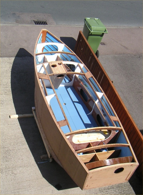 Plywood Foam Sandwich Construction : Openboat is dedicated to the cruising of